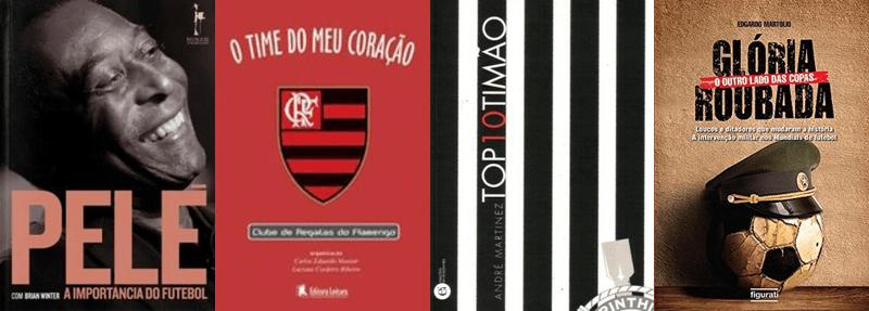Indicação de livros disponíveis: futebol