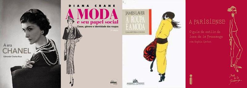 Indicação de livros disponíveis: moda