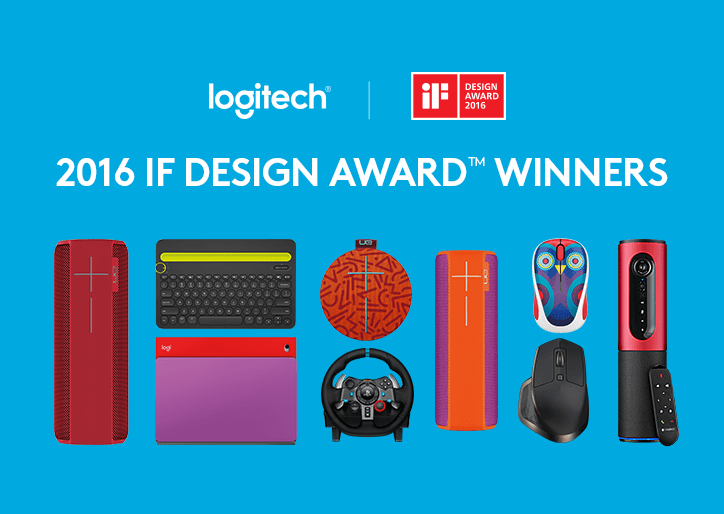 If Design Award 2016 Logitech Honored With 8 If Design Awardsblog Prod