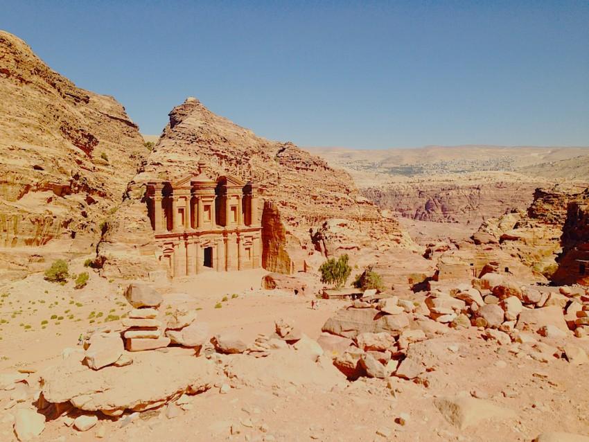 monastero di petra giordania