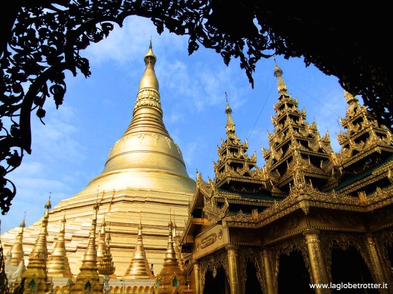 Birmania shwedagon pagoda