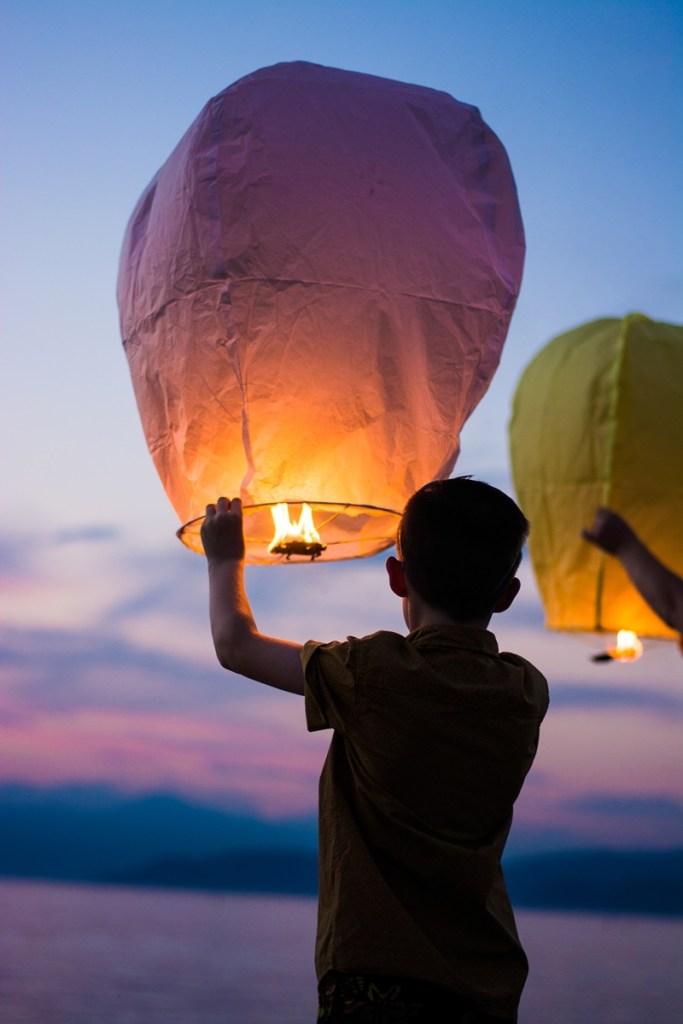 capodanno lanterne