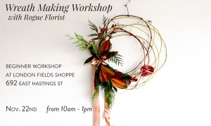 Wreath Making with Rogue Florist