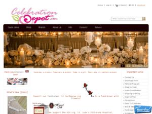 Celebration Depot site