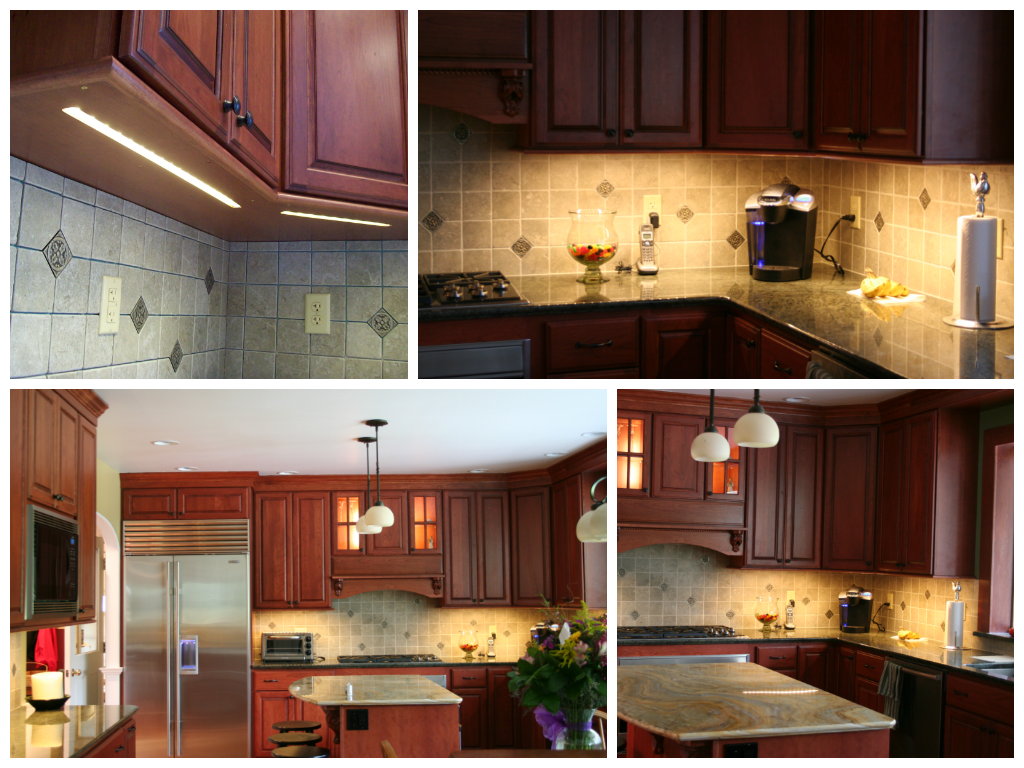 Led Light Strips Under Counter Using Under Cabinet And Task Lighting Louie Lighting Blog