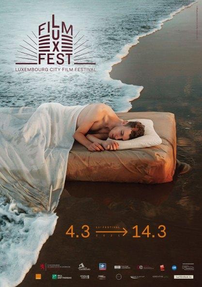 Affiche LuxFilmFest 2021 © Kyle Thompson, VU' & Studio Michel Welfringer