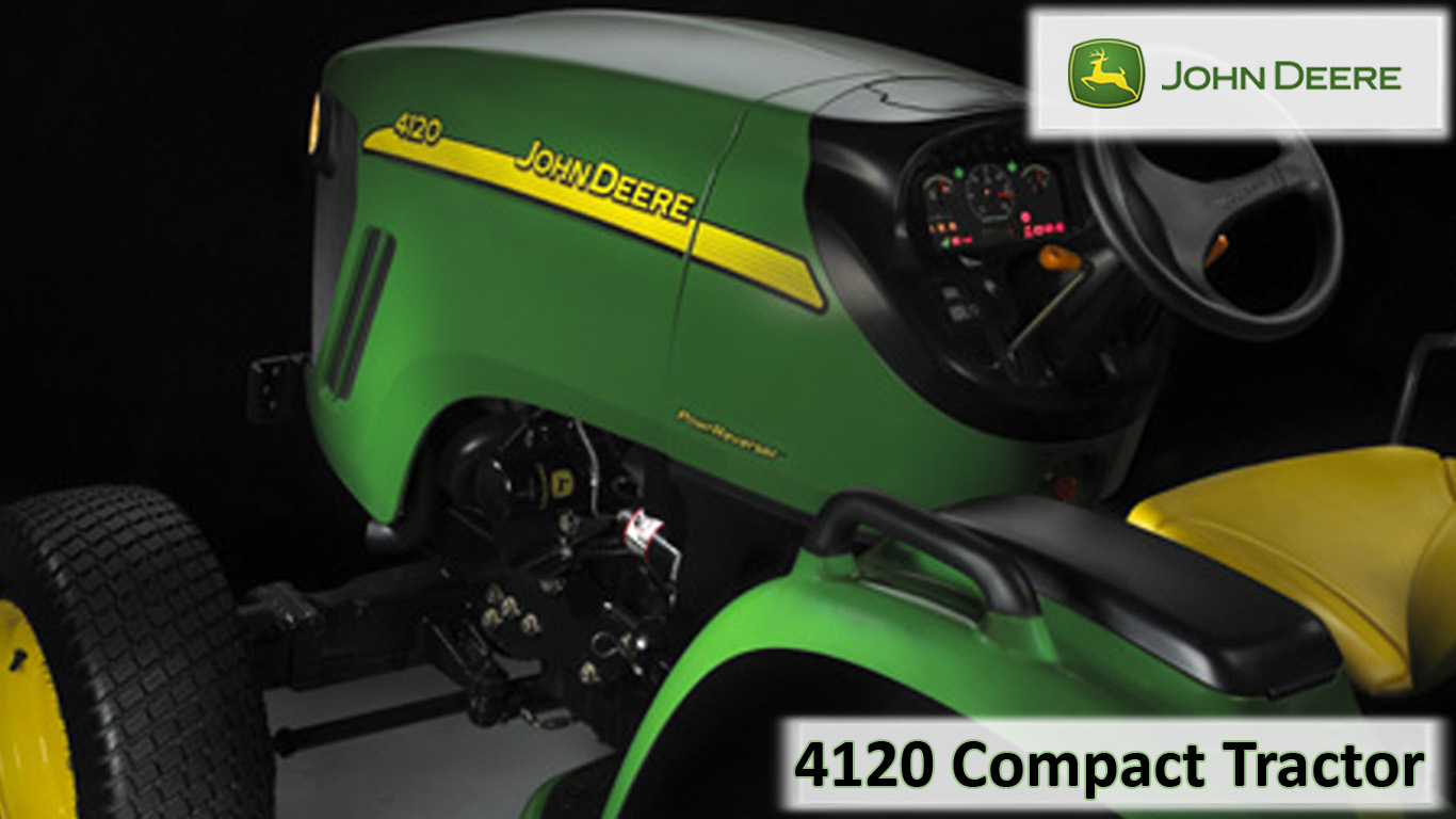 Fall And Thanksgiving Wallpaper John Deere 4120 Compact Tractor Wallpaper