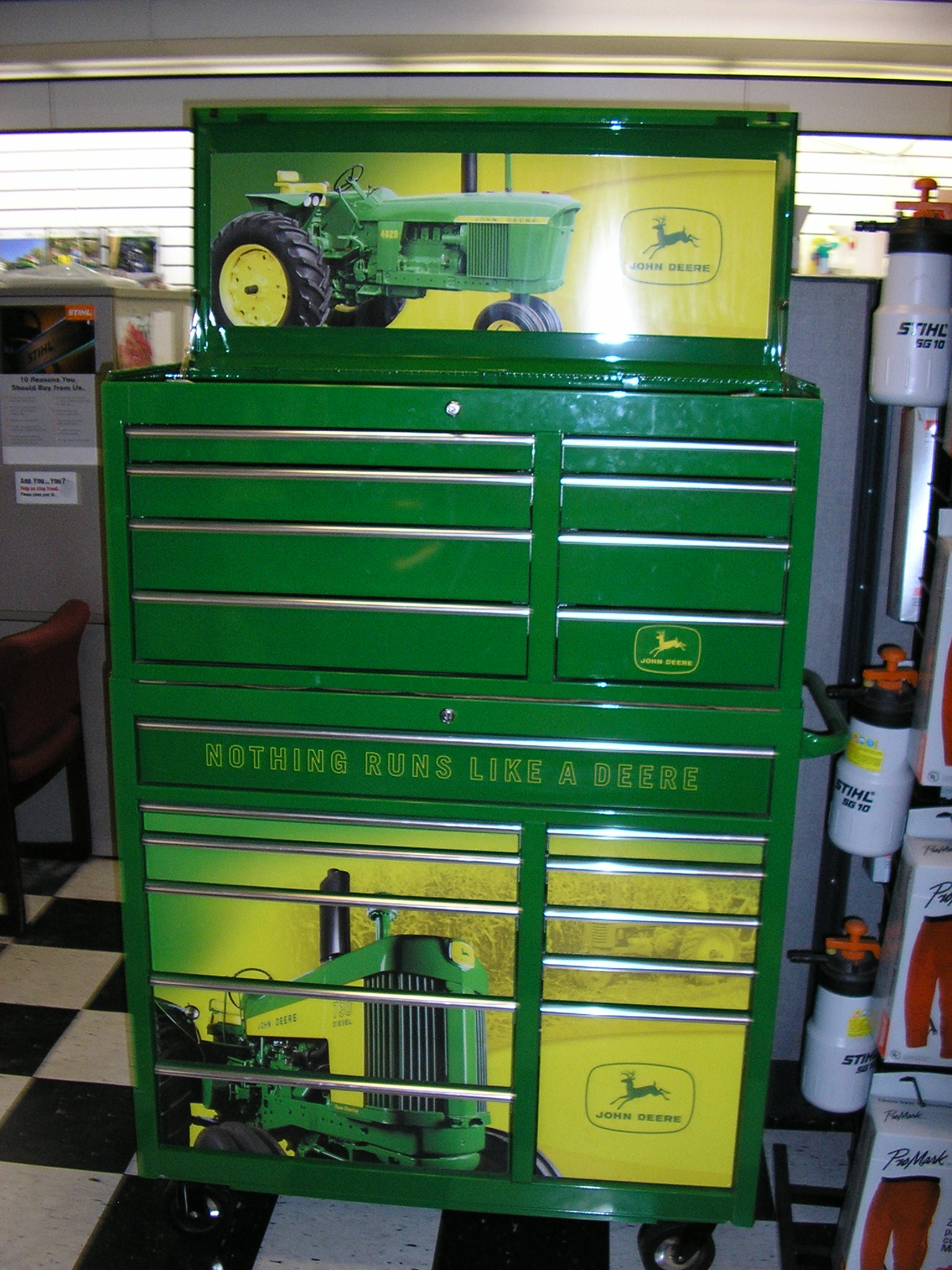 Kids Tool Box John Deere Toolboxes For The Shop & For Kids