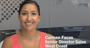 Carmen Facas, Senior Director of Sales, West Coast