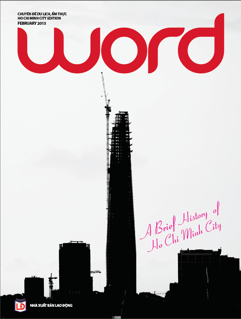 Word Magazine, HCMC edition, February 2013 issue, cover photography and design by Mads Monsen