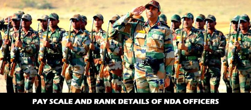 Pay Scale and Rank details of NDA Officers - Major Kalshi Classes