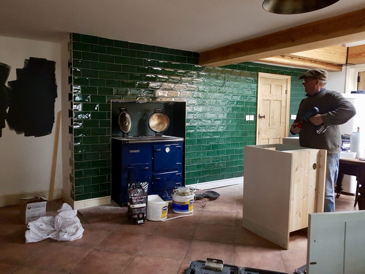 Kitchen Cupboard Painters Leicestershire The Victorian Cottage Kitchen Part 2 Making Spaces