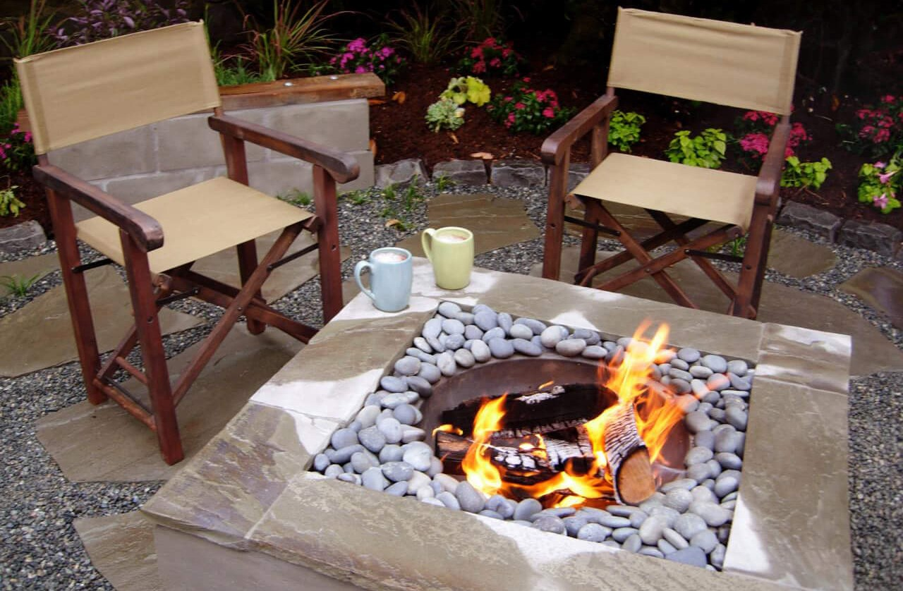 Patio Fire Pit Ideas 12 Easy And Cheap Diy Outdoor Fire Pit Ideas The Handy Mano