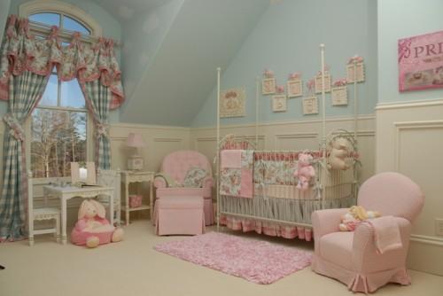 Idee per decorare e arredare le camere dei bambini blog - Arredare cameretta bimba ...