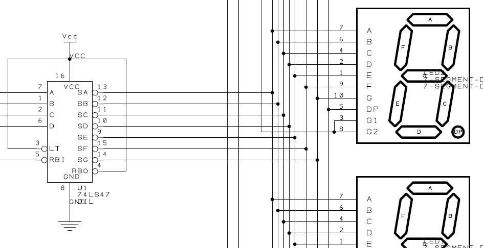 Silverlight Developer » Blog Archive 4 Digit, 7 Segment Display