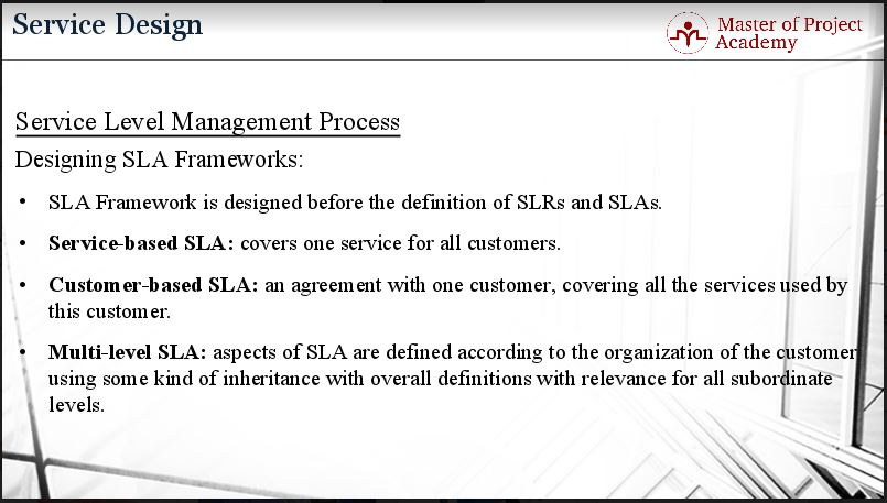 3 Most Common Types of Service Level Agreement (SLA) - Master of