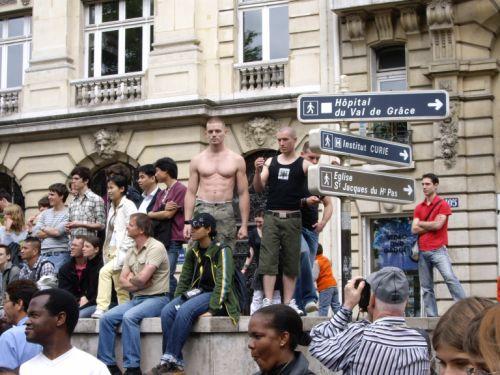 Mecs à Port Royal à la Gay Pride 2007