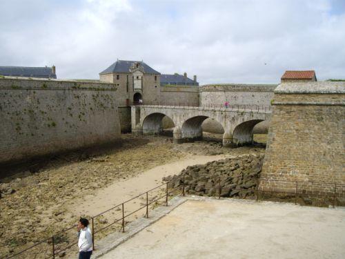 Vue de la Citadelle de Port-Louis