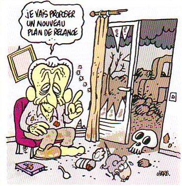"""""""Sarkozy en 2040"""" par Charb - Fluide Glacial Série Or N°46"""
