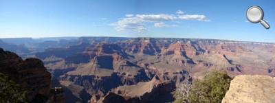 Grand Canyon National Park - Vue globale journée