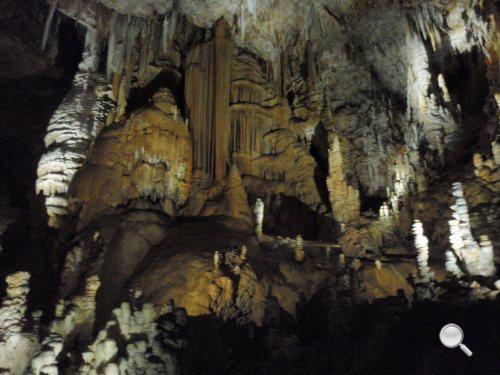 Grotte de Clamouse dans l'Hérault (34) - Le Bouddha