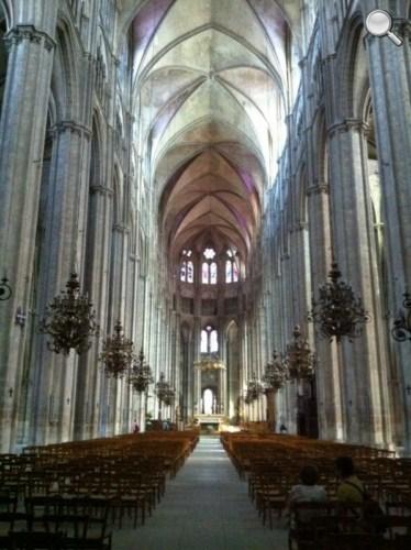 Intérieur de la Cathédrale de Bourges