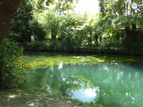 Promenade dans les marais de Bourges