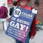 82 years of being gay, but it's just a phase...