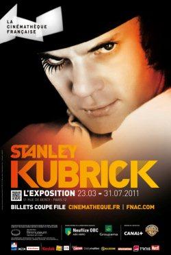 Stanley Kubrick – L'Exposition (à La Cinémathèque Française)