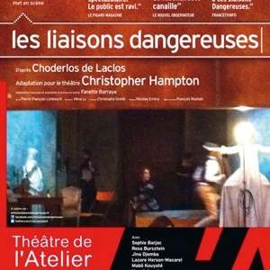 Les liaisons dangereuses au Théâtre de l'Atelier (John Malkovitch)