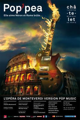 Pop'Pea au théâtre du Châtelet