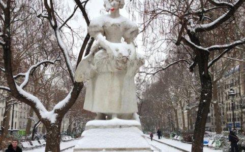 La Grisette sous la neige