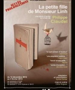 """""""La petite fille de Monsieur Linh"""" au Théâtre A la Folie"""
