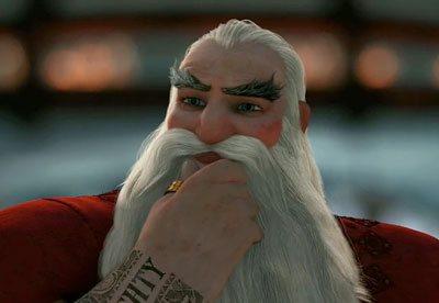 La bague de pouce du Père-Noël