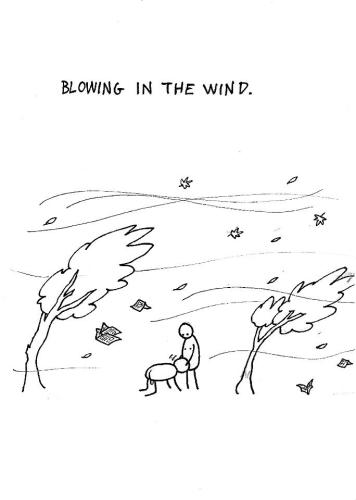 Blowing in the wind - Hugleikur Dagsson