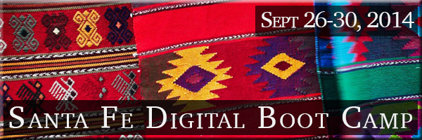 5th Annual Santa Fe Digital Photography Boot Camp. Part field photography and part digital darkroom training.