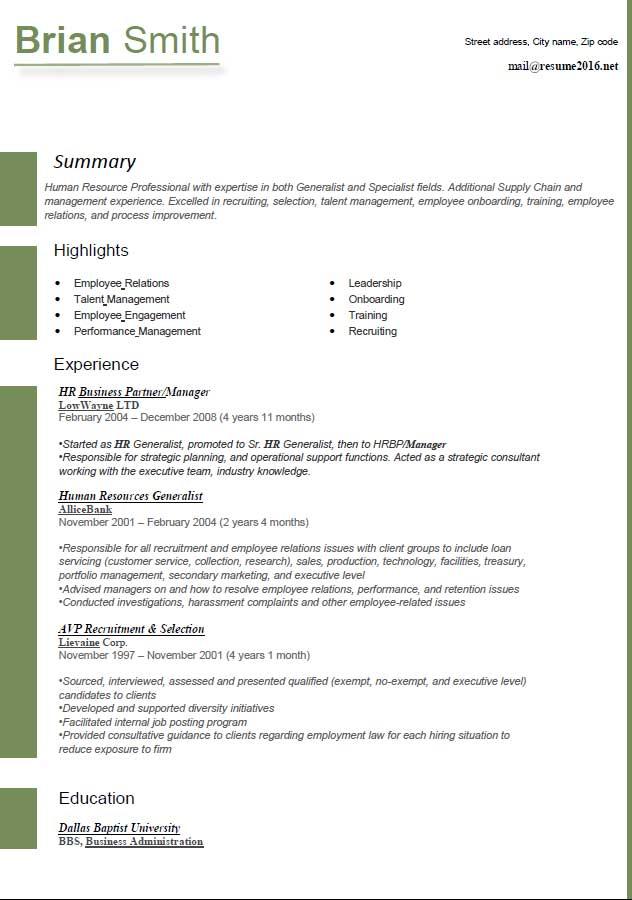 400 Resume Format Samples Freshers Experienced Contoh Format Resume 2016 Yang Korang Wajib Tahu