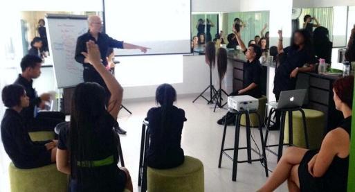 Instructing at KK
