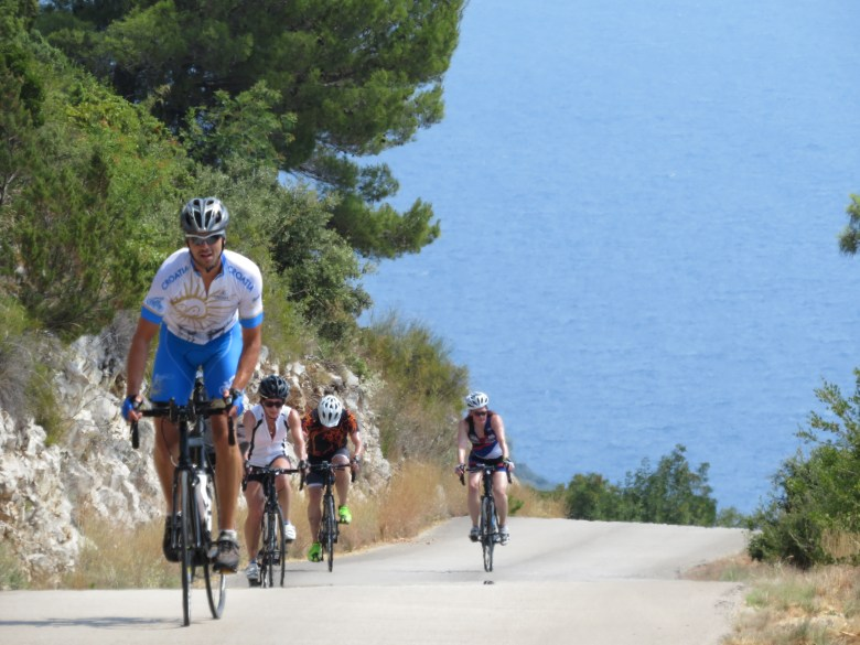 Leading the peloton - Challenging cycling tours Croatia