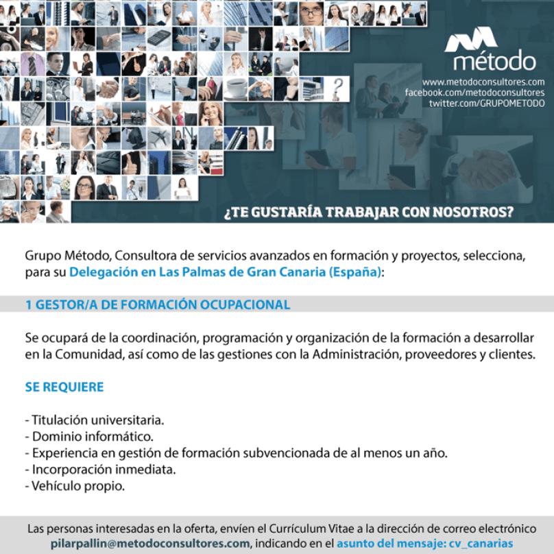 Oferta de Empleo en Canarias