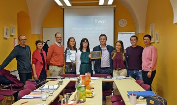Proyecto iYOT, última reunión en Eslovenia