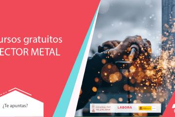 Cursos gratuitos para trabajadores del metal