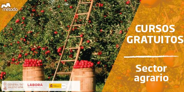 Cursos gratuitos para trabajadores del sector agrario en Comunidad Valenciana