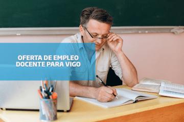 Oferta de empleo: docente