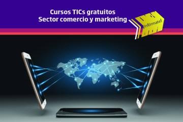 Formación online subvencionada para trabajadores de comercio