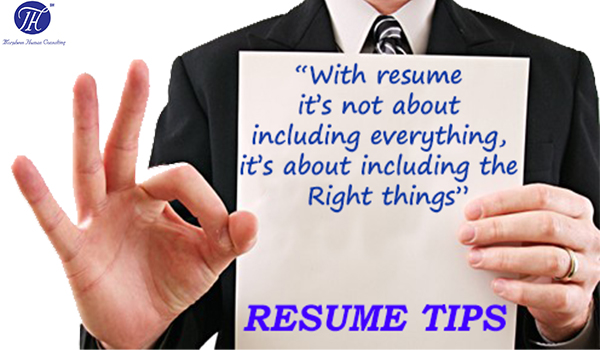 10 Tips Of Writing Perfect Resume - Morpheus Human Consulting - resume writing advice