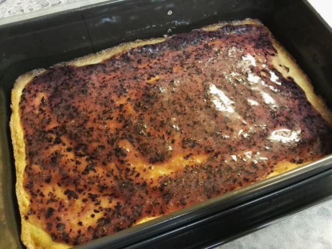 Cheesecake - Blaubeerschicht