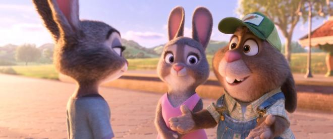 ZOOTOPIA - Judy, Bonnie, and Stu Hopps