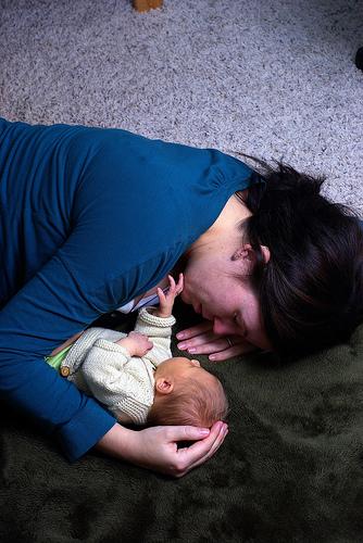 mother-baby-sleeping