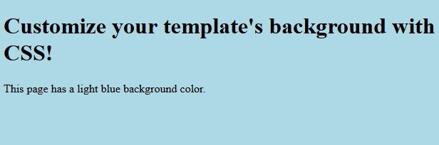 Javascript and CSS Supported Templates